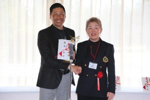 兼本プロと副会長高橋清子プレゼンテーター